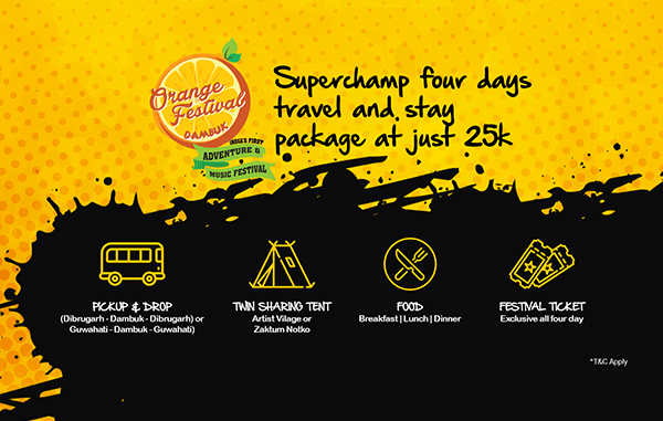 Just INR 25,000/- includes: 1. Pickup & drop service 2. Twin sharing tent 3. Breakfast, lunch, dinner 4. Festival ticket